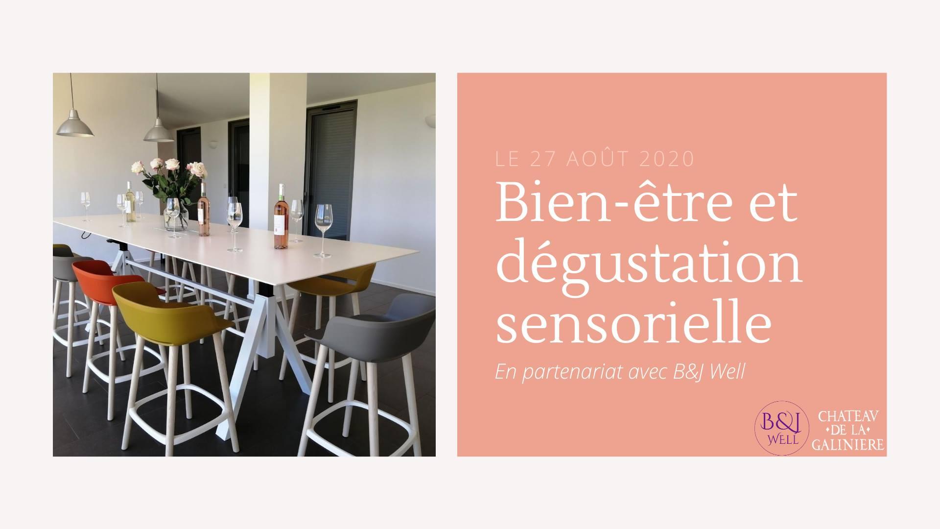Sophrologie : Atelier dégustation Château de la Galinière - Béatrice Thetiot
